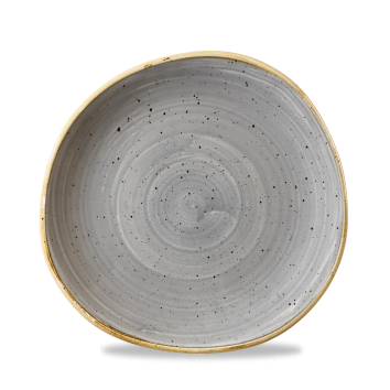 Stonecast Peppercorn Grey organic bord plat 21 cm