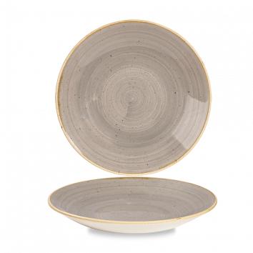 Stonecast Peppercorn Grey diep coupe bord 25,5 cm