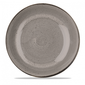 Stonecast Peppercorn Grey coupe bowl 31 cm