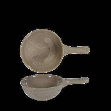 Stonecast Peppercorn Grey deep skillet pan 24,5 cm