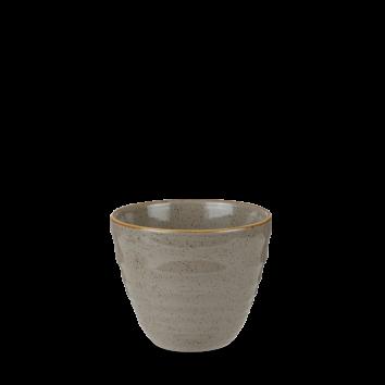 Stonecast Peppercorn Grey ripple chip mug 28 cl