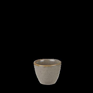 Stonecast Peppercorn Grey ripple dip pot 5,7 cl