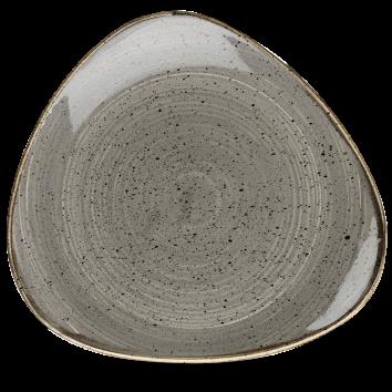 Stonecast Peppercorn Grey triangle bord 31,1 cm