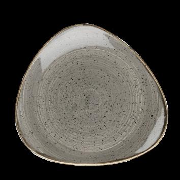 Stonecast Peppercorn Grey triangle bord 19,2 cm
