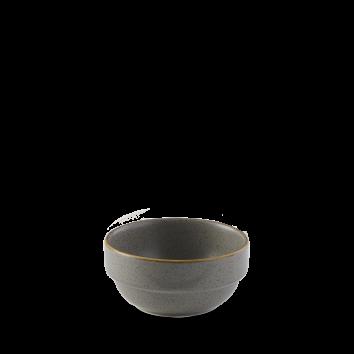 Stonecast Peppercorn Grey bowl stapelb. 36 cl