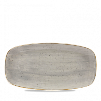 Stonecast Peppercorn Grey chef`s oblong plate 26,9 x 12,7 cm