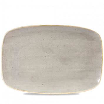Stonecast Peppercorn Grey chef`s oblong plate 35,5 x 24,5 cm