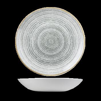 Studio Prints Stone Grey coupe bowl 24,8 cm