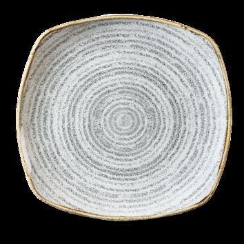 Studio Prints Stone Grey bord vierkant 21,5 cm