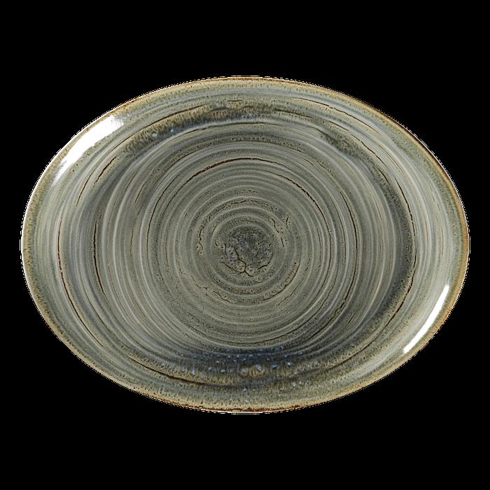RAK Spot Peridot bord ovaal 32 x 23 cm