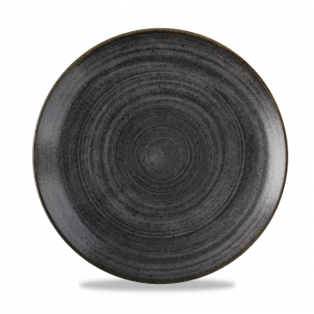 Stonecast Raw Black coupe bord 26 cm