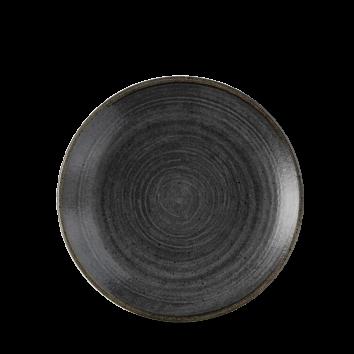 Stonecast Raw Black coupe bord 16,5 cm