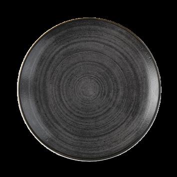 Stonecast Raw Black coupe bord 21,7 cm