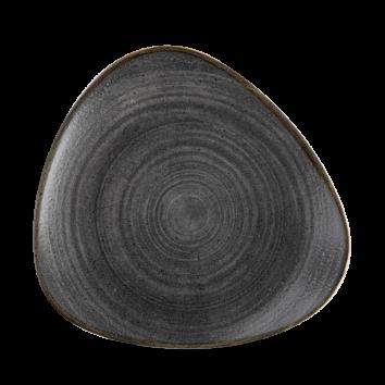 Stonecast Raw Black triangle bord 22,9 cm