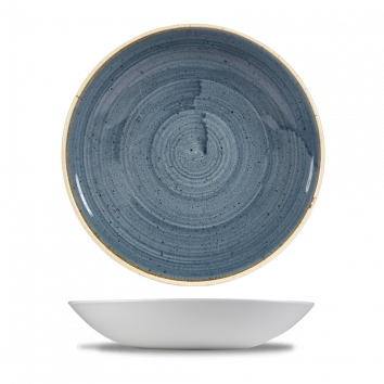 Stonecast Blueberry coupe bowl 24,8 cm