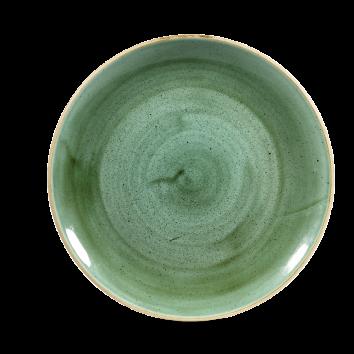Stonecast Samphire Green coupe bord 26 cm