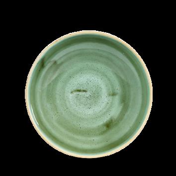 Stonecast Samphire Green coupe bowl 18,2 cm