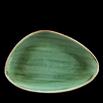 Stonecast Samphire Green chef`s triangle bord 30 cm