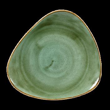 Stonecast Samphire Green triangle bord 26,5 cm