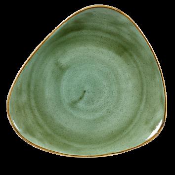 Stonecast Samphire Green triangle bord 31,1 cm