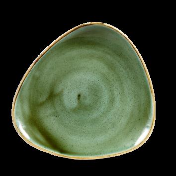 Stonecast Samphire Green triangle bord 22,9 cm