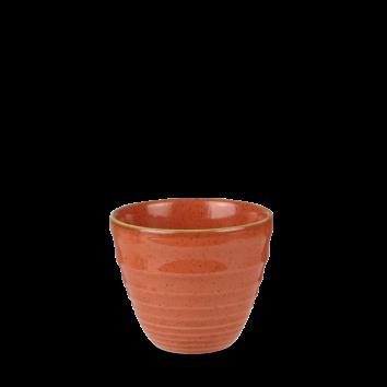 Stonecast Spiced Orange ripple chip mug 28 cl