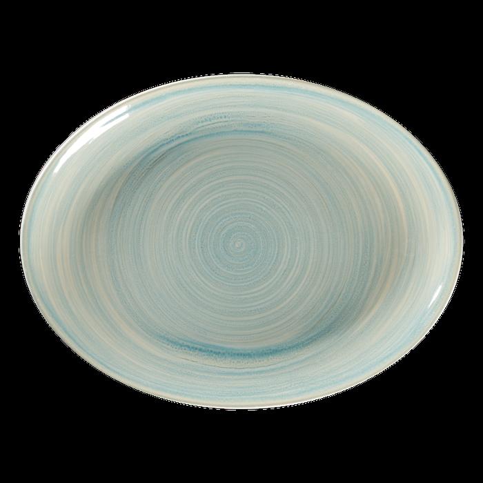 RAK Spot Sapphire bord ovaal 36 x 27 cm