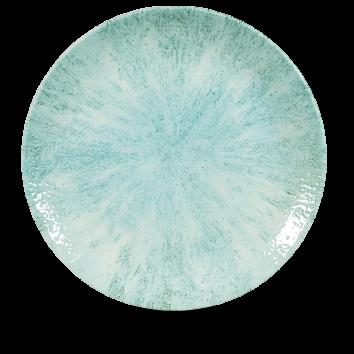 Studio Prints Raku Stone Aquamarine coupe bord 28,8 cm