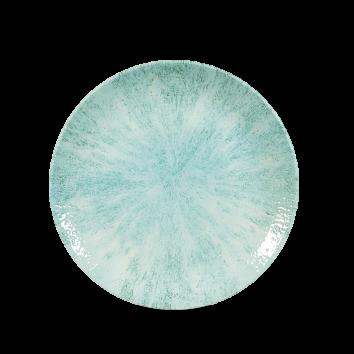 Studio Prints Raku Stone Aquamarine coupe bord 16,5 cm
