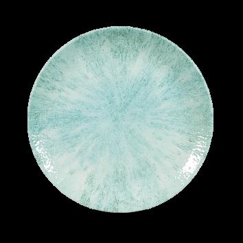 Studio Prints Raku Stone Aquamarine coupe bord 21,7 cm