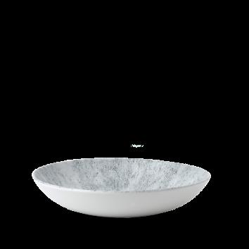 Studio Prints Raku Stone Pearl Grey coupe bowl 24,8 cm