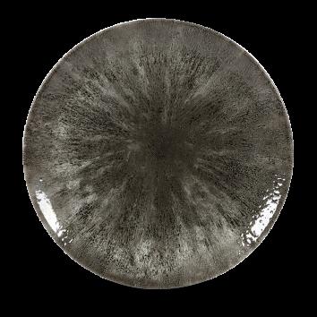 Studio Prints Raku Stone Quartz Black coupe bord 28,8 cm