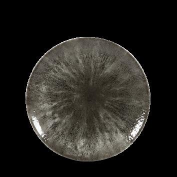 Studio Prints Raku Stone Quartz Black coupe bord 16,5 cm