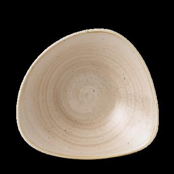 Stonecast Nutmeg Cream triangle bowl 15,3 cm