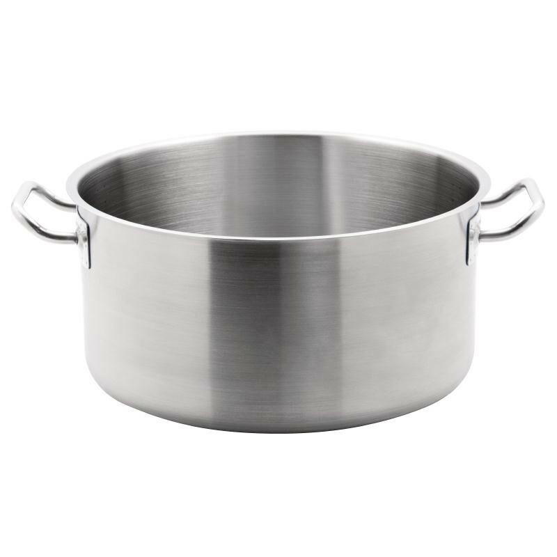 kookpan RVS middel hoog model 18.5 Ltr
