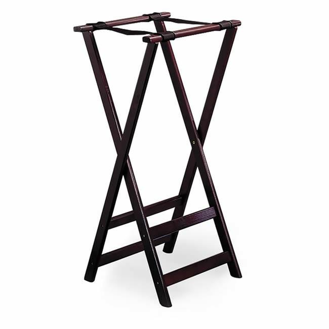 Tablecraft Tray stand * hout opvouwbaar 42 x 81,5(h) cm