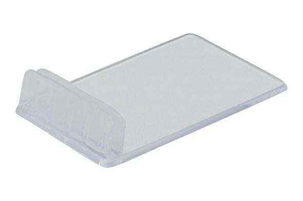 Securit kaart houder transparant 4 x 1,8(h) cm DOOS 10