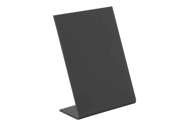 Securit krijtbord L-Board A7 7,5 x 4,5 11,5(h) cm DOOS 5