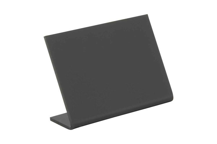 Securit krijtbord L-Board A8 7,5 x 3,5 x 7(h) cm DOOS 5