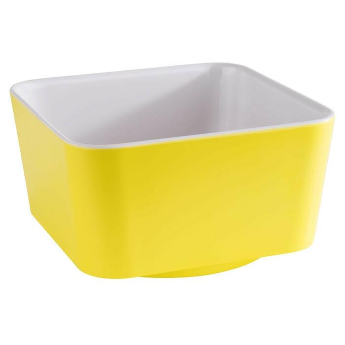 APS melamine Happy Buffet bowl 13 x 13 x 7(h) cm geel