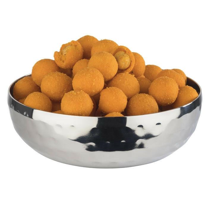 tipje Streetfood gehamerd edelstaal 9,5 x 3(h) cm