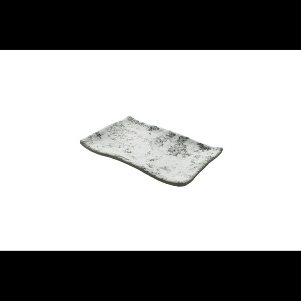 Cheforward Endure+ kiezel rechthoekige schaal 13,5 x 10 cm