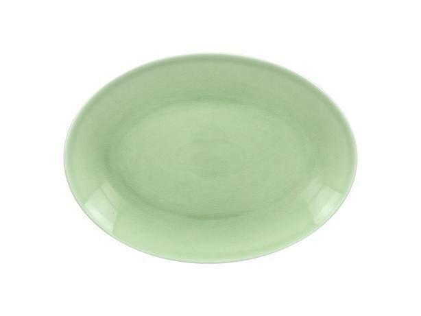 RAK Vintage Green schaal ovaal 32 x 23 cm