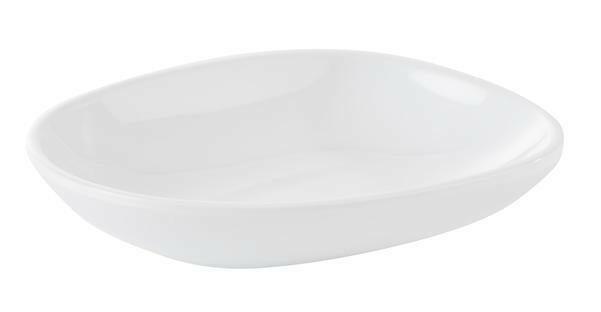 APS melamine Mini bowl 10,5 x 8,5 x 2(h) cm wit