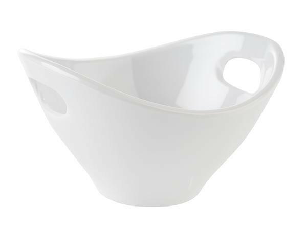 APS melamine Mini bowl met uitsparingen 13 x 12 x 7,5(h) cm