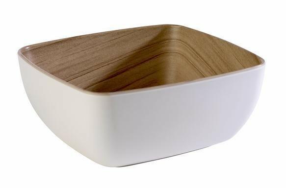 APS melamine Frida bowl 17,6 x 16,2 x 7,5(h) cm wit