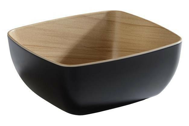 APS melamine Frida bowl 17,6 x 16,2 x 7,5(h) cm zwart