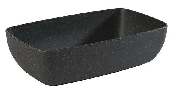 APS melamine Frida Stone bowl 26,5 x 16,2 x 7,5(h) cm