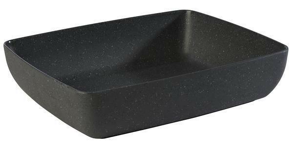 APS melamine Frida Stone bowl 32,5 x 26,5 x 7,5(h) cm