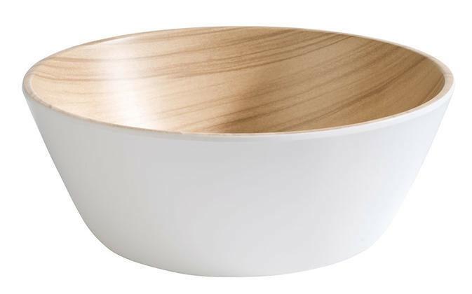 APS melamine Frida bowl Ø 20 x 7,5(h) cm wit